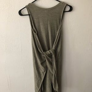 Lou and grey olive wrap dress
